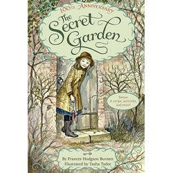 Photo of the Secret Garden Book Cover on Writer Wednesday Blog Post from Writing Consultant and Author Megan Easley-Walsh
