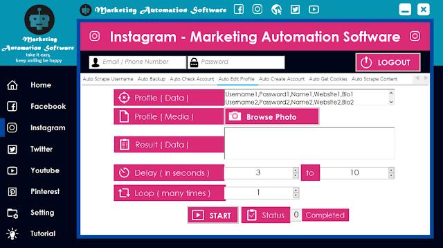Cara Cepat Edit Data Instagram Secara Automatis