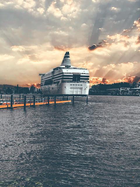 Ferry from Helsinki to Tallinn