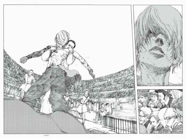 Review de LEVIUS de Haruhisa Nakata, Ivrea.