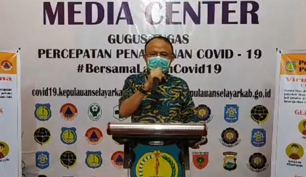 Update Data COVID-19 Selayar 15 Mei 2020, Tidak Ada Tambahan Kasus Namun Data Orang Beresiko Dari Zona Merah Bertambah