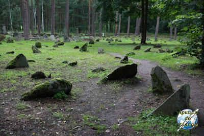 Tumbas del cementerio de Kruszyniany
