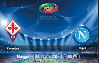 Prediksi Fiorentina vs Napoli 10 Februari 2019