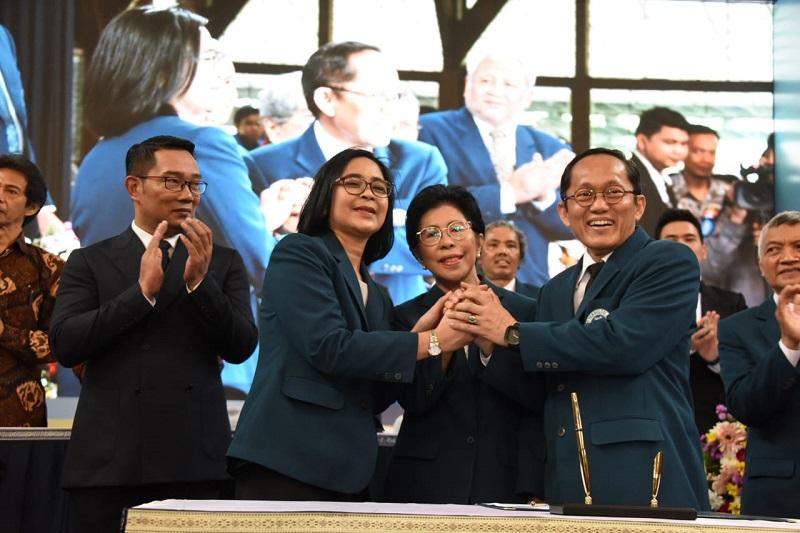Ridwan Kamil Berharap Reini Wirahadikusumah Angkat Peringkat ITB di Level Dunia