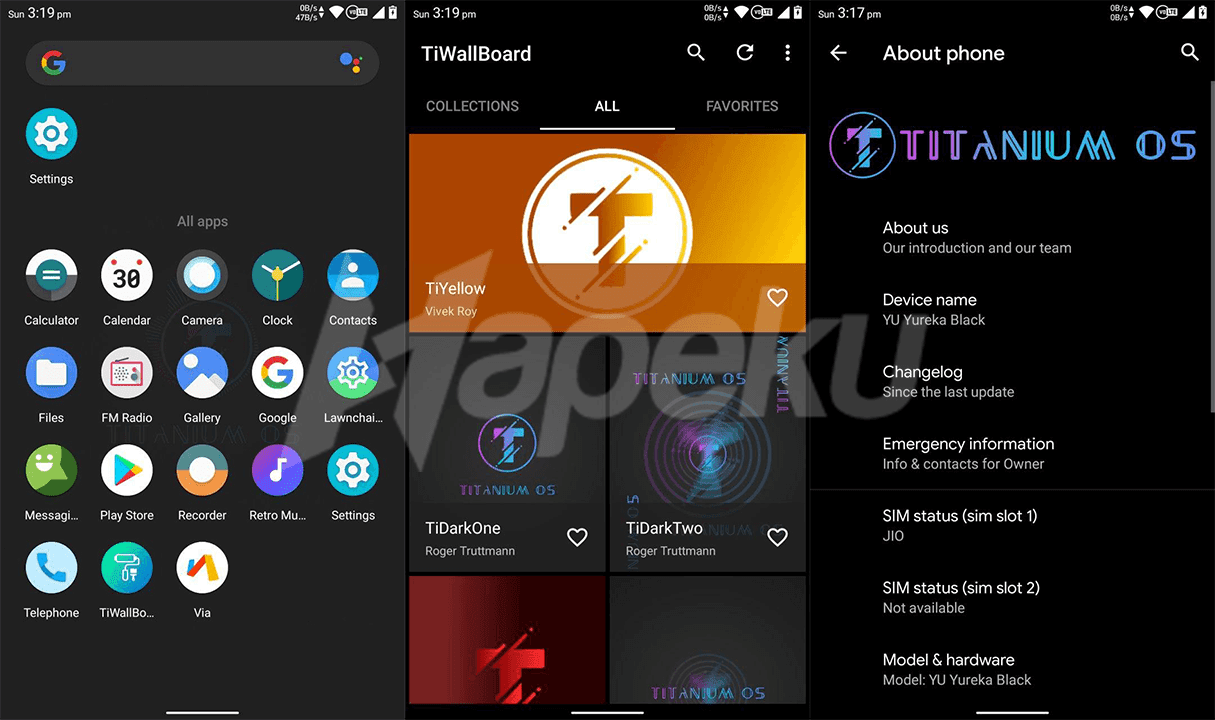 Screenshot ROM TitaniumOS Redmi Note 5