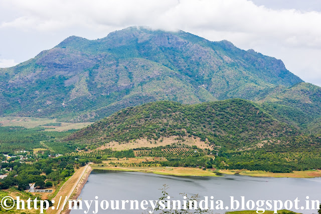 Manjalaar Dam View Enroute Kodaikanal