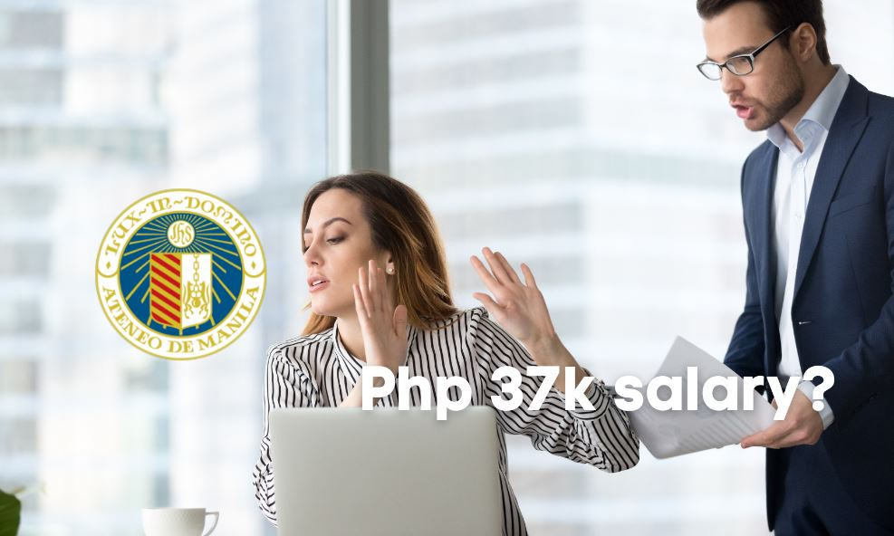 Netizens weigh in on P37k starting salary declined by Ateneo graduate