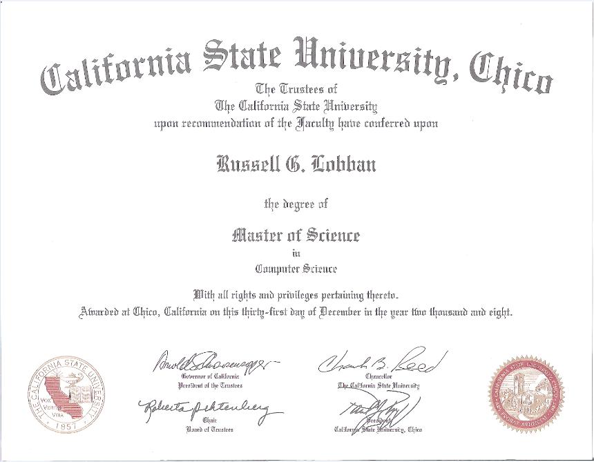 Master Of Education