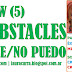 GROW (5) OBSTACLES No se y No puedo #MartesCoach @Nego2CIO @EPsicofisico @SchmitzOscar #coaching #psicofísico