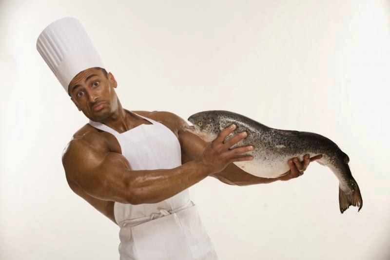 فوائد تناول الاسماك للاعب كمال الاجسام