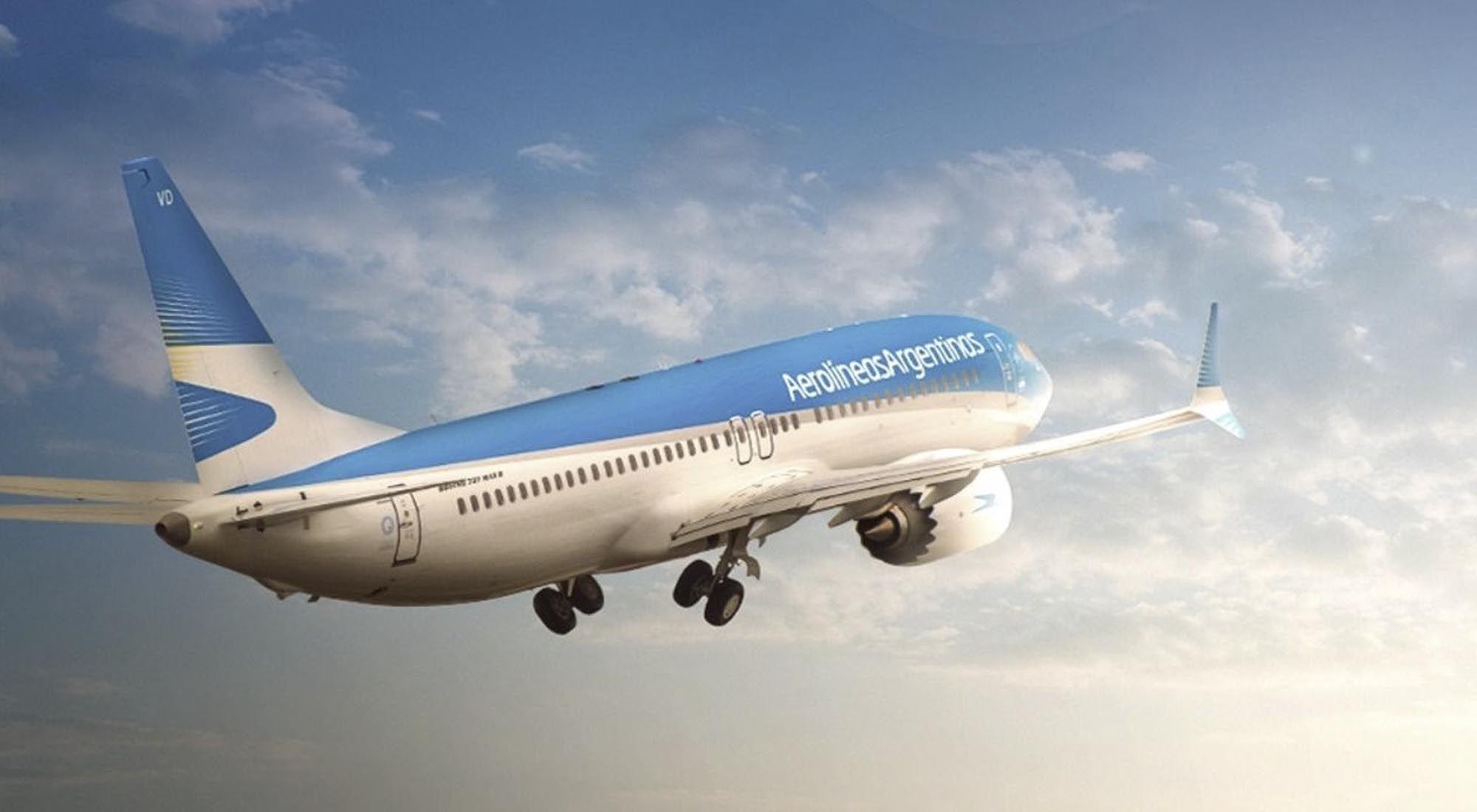 Listado de vuelos de octubre de Aerolíneas Argentinas