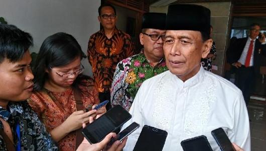 Wiranto: Hukum Tidak Selesai Dengan Memaafkan