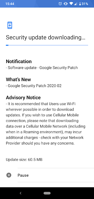 Nokia 4.2 receiving February 2020 Android Security Patch