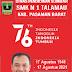 SMK N 1 Talamau Mengucapkan Dirgahayu RI Ke-76, Indonesia Kuat, Indonesia Tangguh
