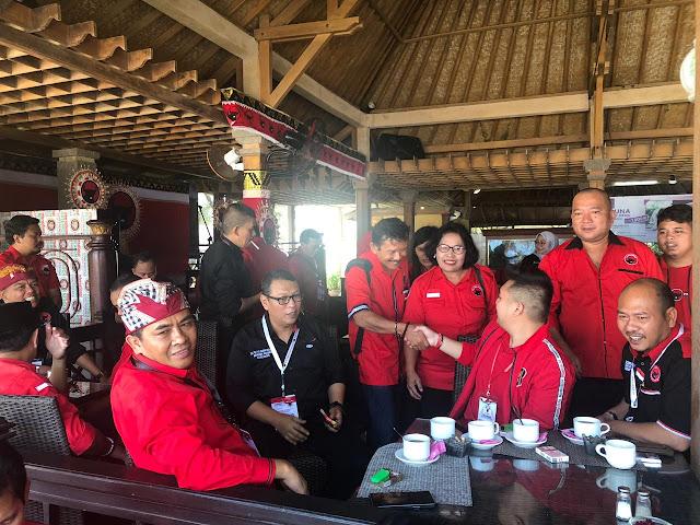 Hasil Kongres PDIP V Bali, Sukur Nababan Ketua DPP Bidang Keanggotaan dan Organiassi