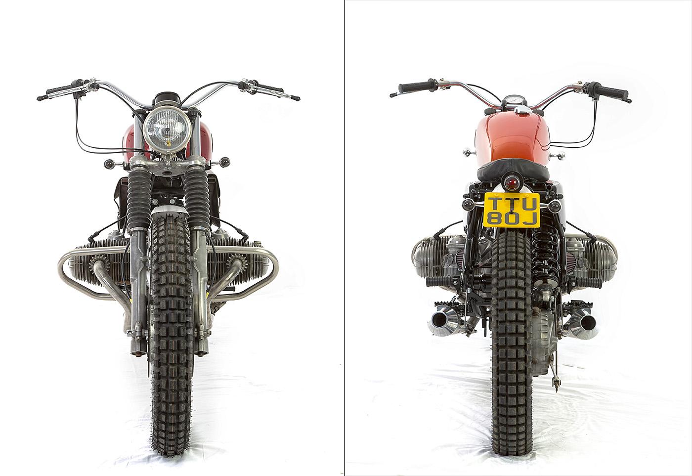 u03df hell kustom  u03df  bmw r80st 1984 by dust motorcycles
