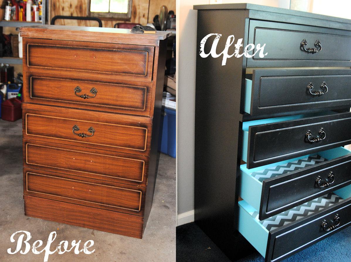 Stick Pony Creations: Grandpa's Dresser Makeover