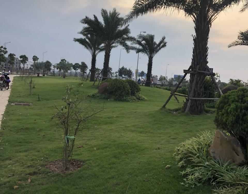 Khu tập golf đã được hình thành trong khu đô thị Him Lam Green Park
