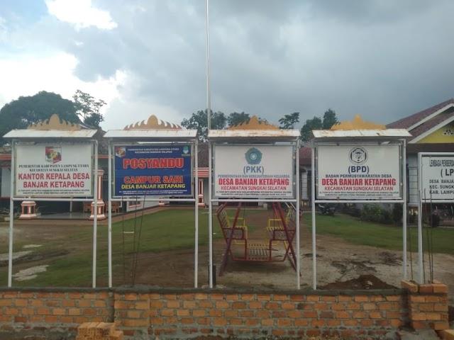 Desa Banjar Ketapang Anggarkan Kegiatan Pembangunan dan Pencegahan Covid-19 Melalui DD Tahun 2020
