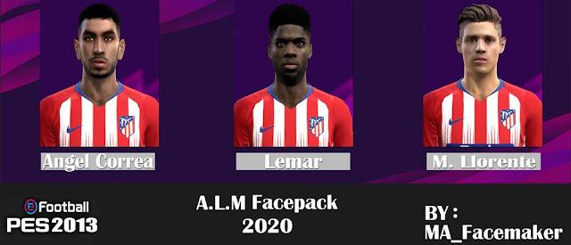 PES 2013 A.L.M Facepack 2020