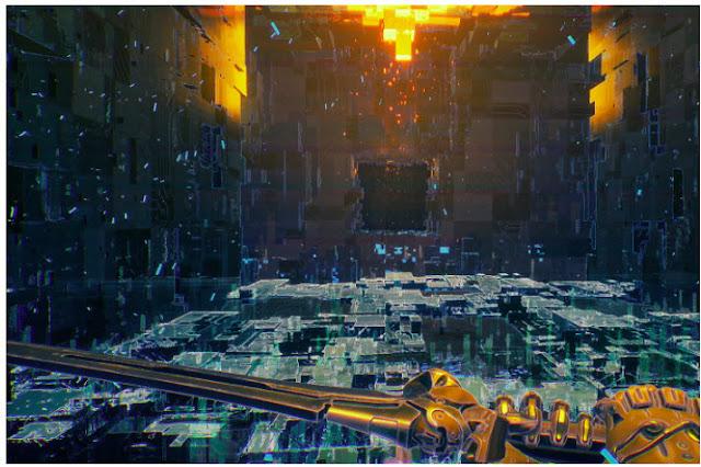 Captured on Ghostrunner game PS4 PS5