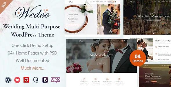 Best Wedding Multipurpose WordPress Theme
