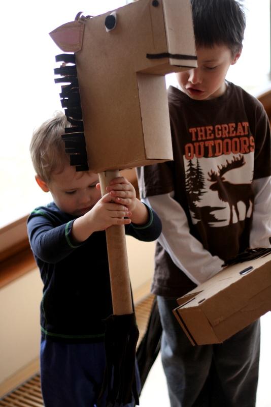 K V B A R N Cheerios Box Horses