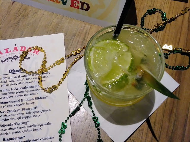 Paladar Latin Kitchen | Coconut Pineapple Caipirinha