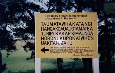 Nama Tempat Paling Panjang Di Dunia