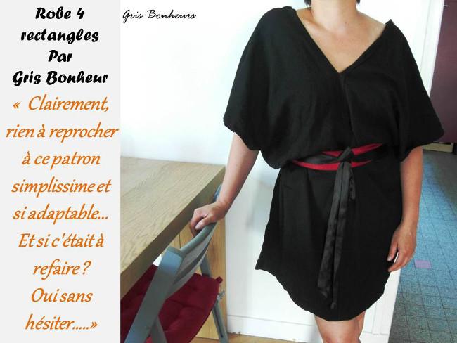 Patron couture robe droite facile