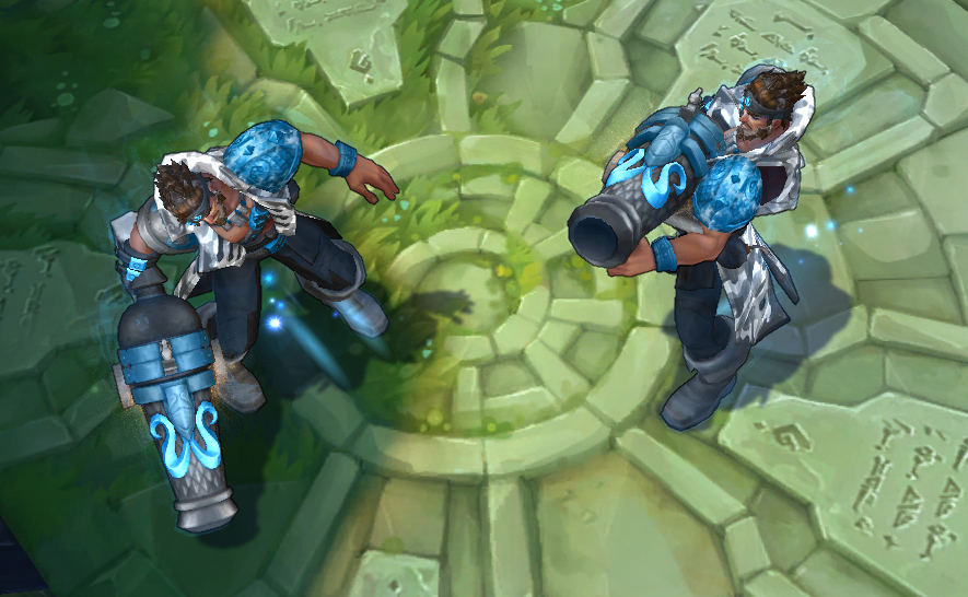 league of legends how to use ward skins