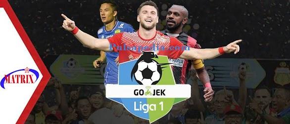 Paket Liga 1 Soccer Matrix Garuda
