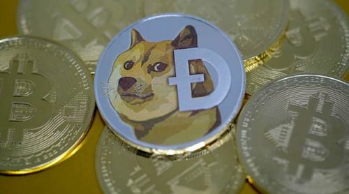 Dogecoin is up 300% in a week
