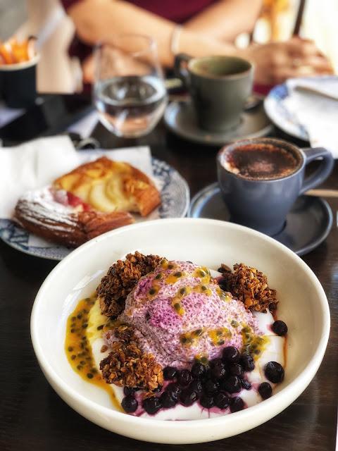 paddington social in brisbane chia pudding best breakfast