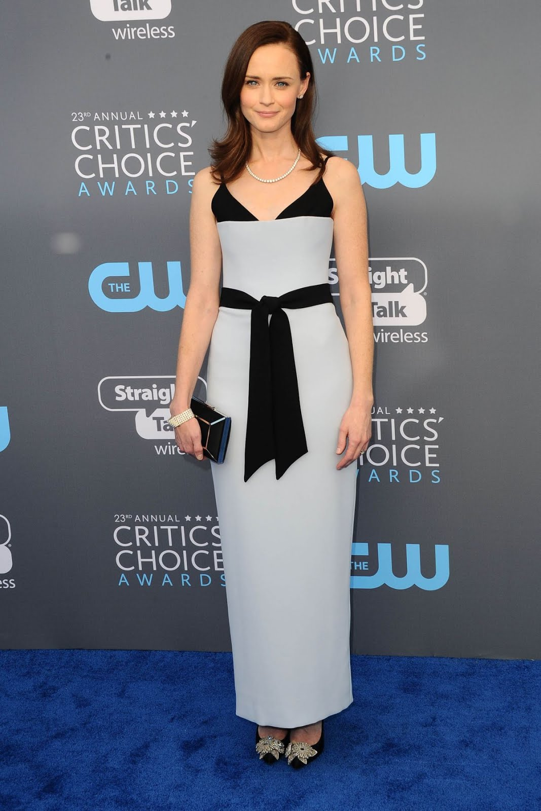 Alexis Bledel At 2018 critics Choice Awards In Santa Monica