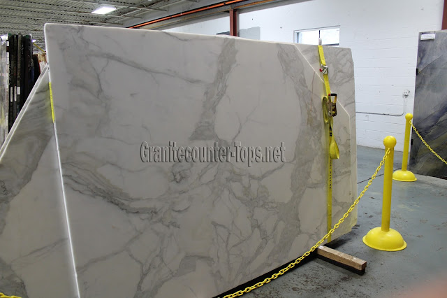 Calacatta Borghini White Marble Slabs
