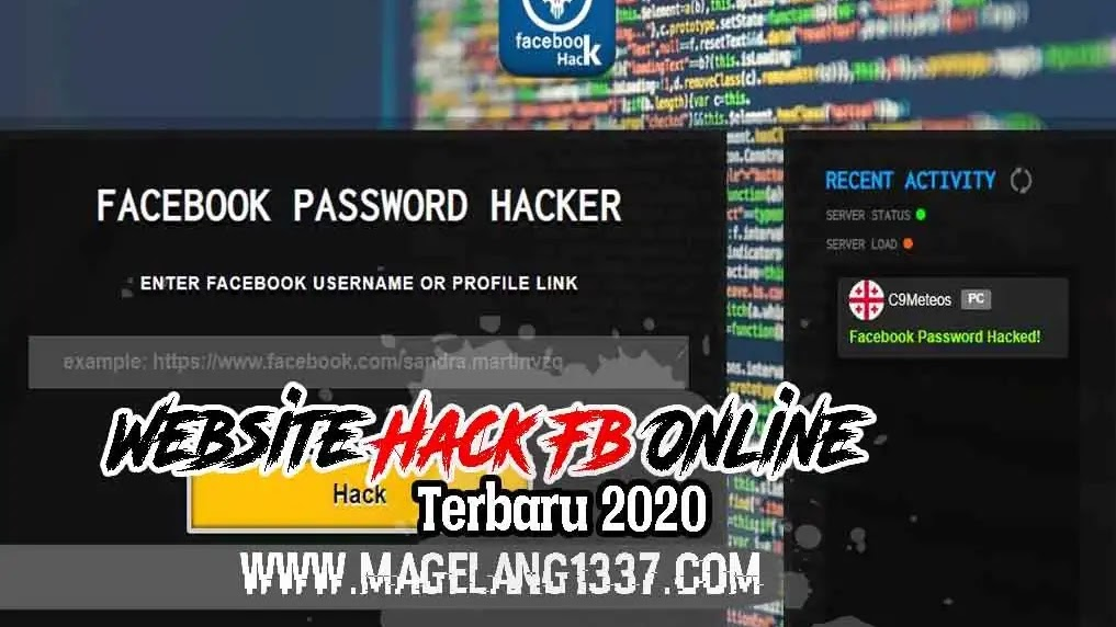 Website Hack Fb Online 2020