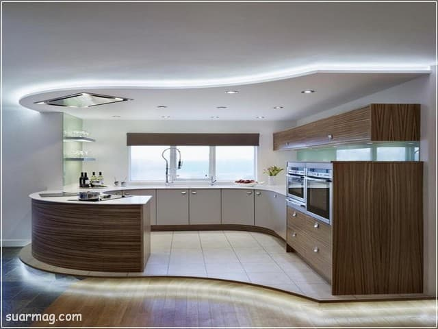 جبس بورد مطابخ 9   Kitchen Gypsum Designs 9