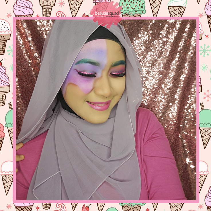 makeup ice cream