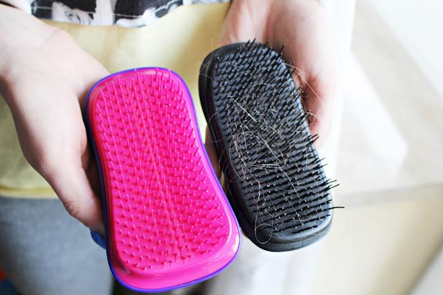 jak czyścić szczotki do włosów