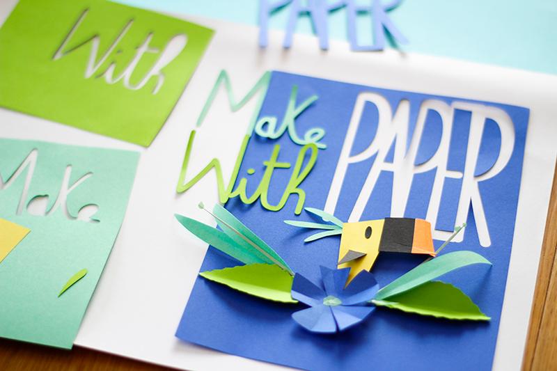 Paper cut camille epplin papercraft