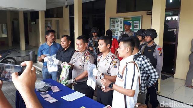 1.8 KG Sabu Disita dari 2 Kurir Narkoba Di Medan