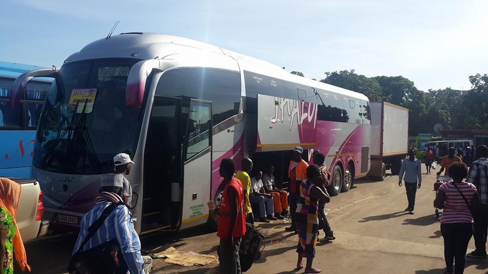 Shalom Bus Services Livingstone To Lusaka Booking