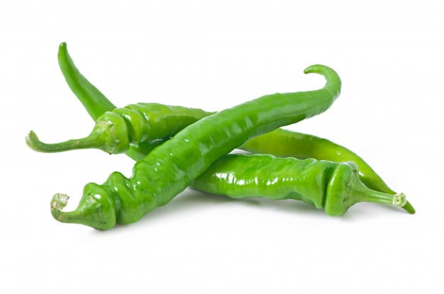 Benefits of spicy green capsicum for the body