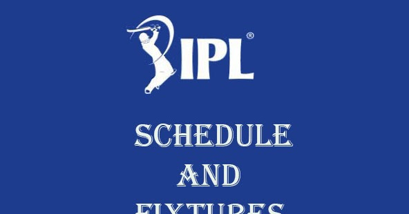 : IPL t20 2017 (Season 10) Full Match Schedule , Fixture, Time Table ...