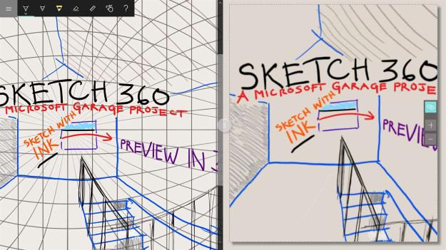 Sketch 360 - Η νέα έξυπνη εφαρμογή σχεδίασης της Microsoft για Windows και Android