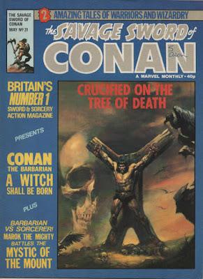 Savage Sword of Conan #31, A Witch Shall Be Born, Boris Vallejo
