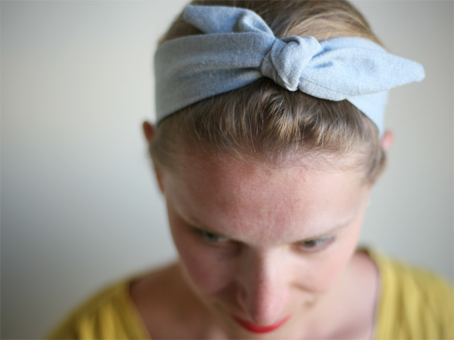 How to Make Vintage Style Headbands