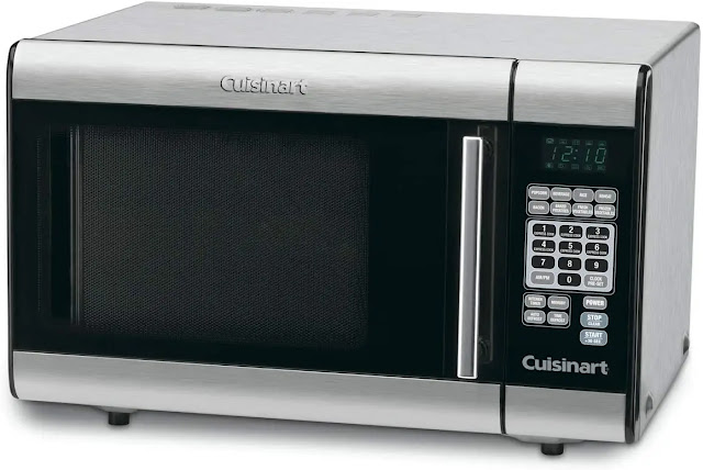 8. Cuisinart CMW 100 1 Cubic Foot Stainless Microwave