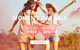 WOMEN'S DAY SALE